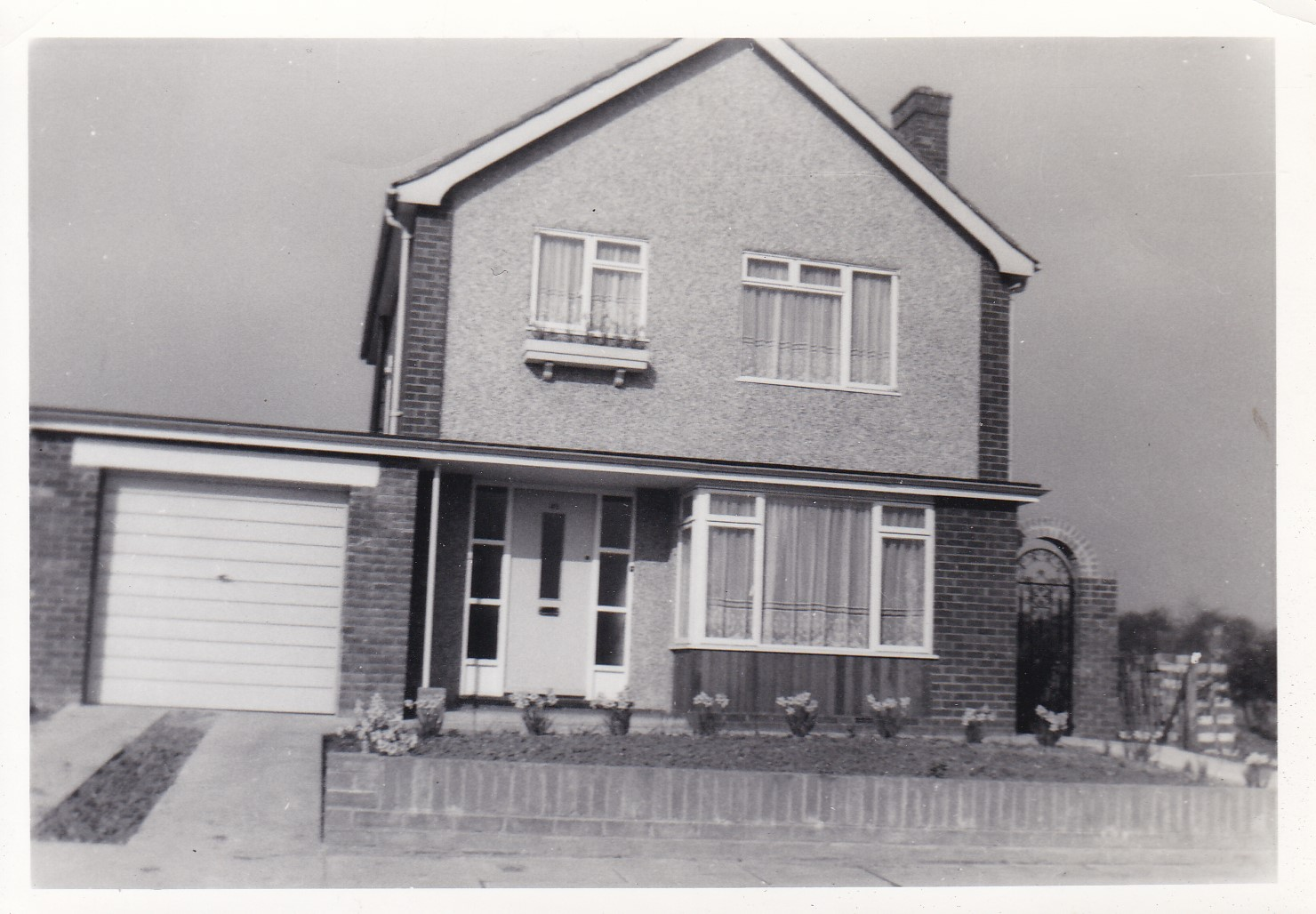 45 Bellamy early 1960s before the flats were built